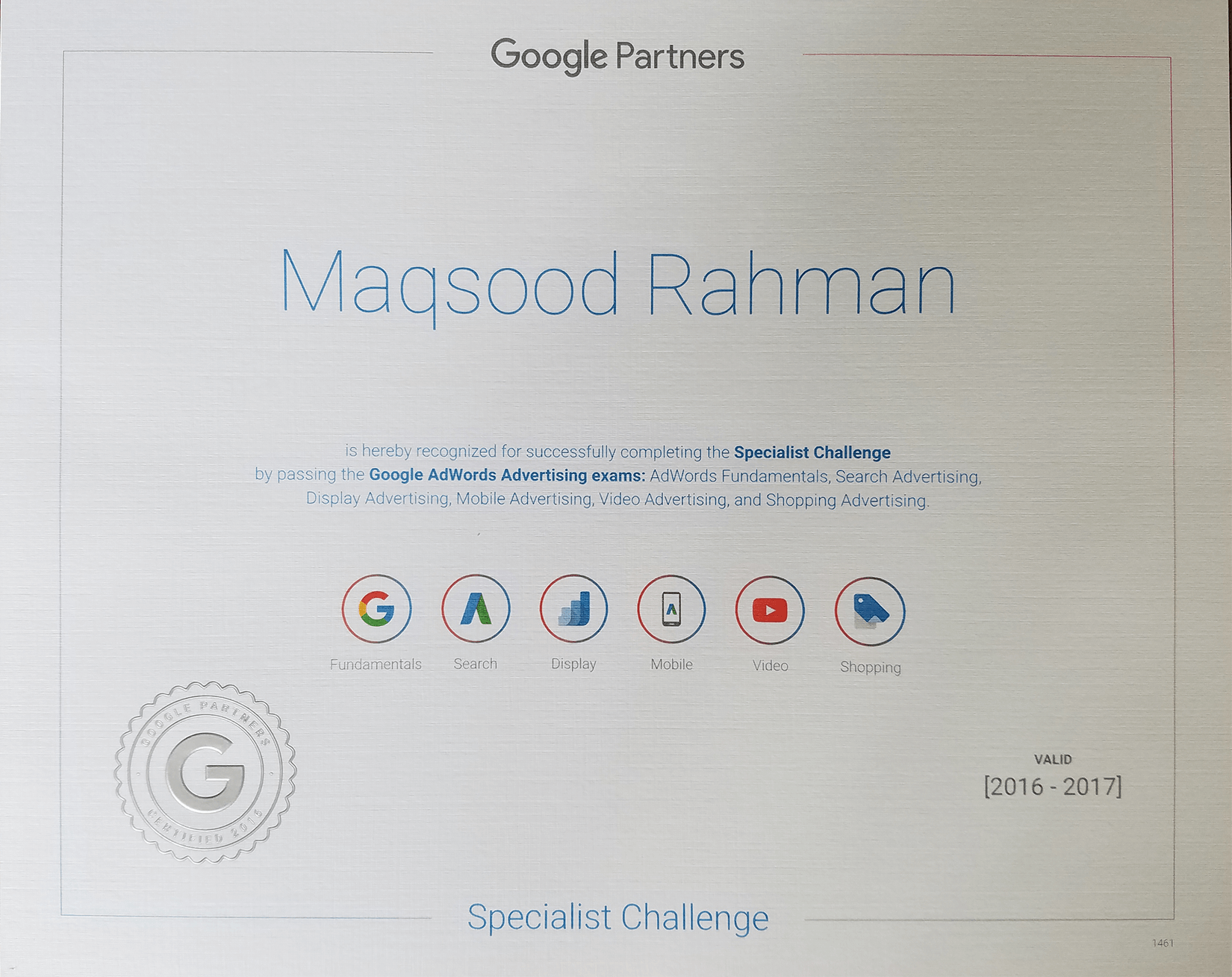Trust Me Im A Specialist The Benefits Of Being Google Certified