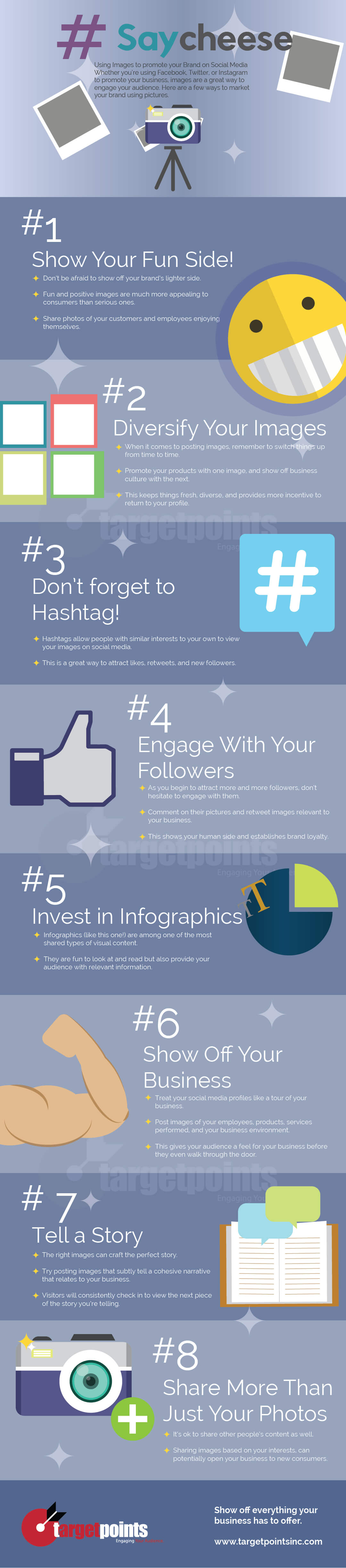 Using images to promote your brand on social media