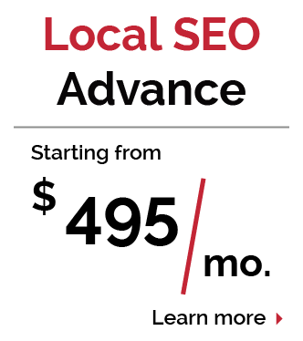 Arizona Local SEO Advance Pricing Package